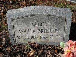 Arvilla Ann Breedlove