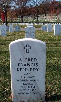 Capt Alfred Francis Kennedy