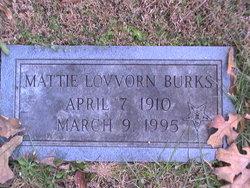 Mattie Lovvorn Burks