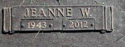 Wilma Jeanne <i>Wentz</i> Allred