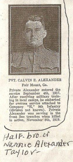 Calvin Earnest Alexander