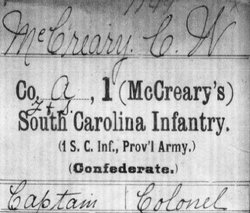 Col Comillus Wycliffe McCreary