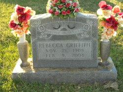 Rebecca Becky <i>Edwards</i> Griffith