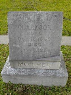 Sallie White <i>Leavens</i> Clarkson