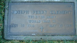 Joseph Perry Clement