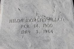 Hilda <i>Morgan</i> Allen