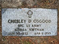 Chesley D Osgood, Sr