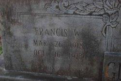 Francis William Glasbrooks