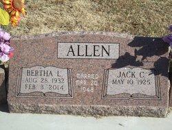 Bertha Lee <i>Davis</i> Allen