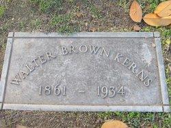 Walter Brown Kerns