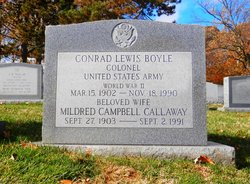 Mildred Campbell <i>Callaway</i> Boyle