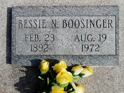 Bessie Neoma <i>Bacon</i> Boosinger