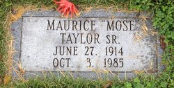 Maurice Mose Taylor, Sr