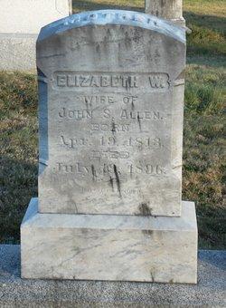 Elizabeth Woodward <i>Capron</i> Allen