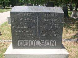 Marian <i>Atkins</i> Coulson