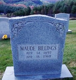 Maude <i>Wooten</i> Billings