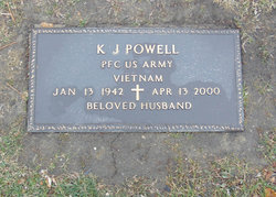 K J Powell