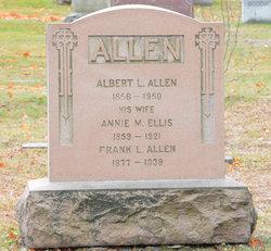 Annie Maria <i>Ellis</i> Allen