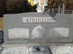 W T Atkinson