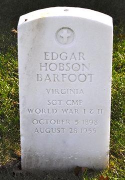 Edgar W Barfoot