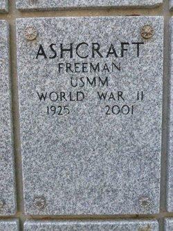 Freeman Ashcraft
