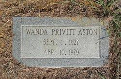 Wanda Privitt <i>Willis</i> Aston