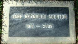 Jane <i>Reynolds</i> Aderton