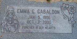 Emma <i>Griego</i> Gabaldon