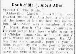 James Albert Allen, Jr