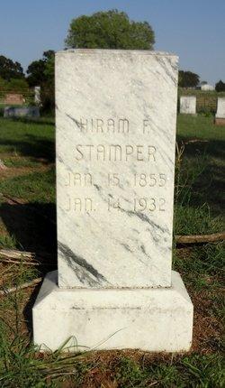 Hiram F Stamper