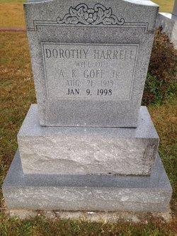 Dorothy <i>Harrell</i> Goff