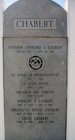 Leonard Joseph Chabert