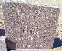 Vera <i>Echols</i> Pauley