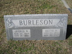George Washington Burleson