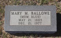 Mary Melissa Mom Blue <i>Sherrard</i> Ballowe