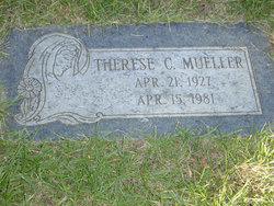 Therese Clare <i>Williams</i> Mueller