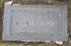 Diane Sandra Dee Dee <i>Wayland</i> Archer