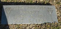 Lela <i>Rowland</i> Barnett