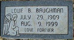 Louie Bell <i>Buse</i> Baughman