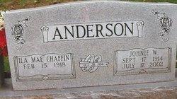 Johnie William Anderson