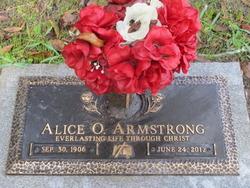 Alice <i>Mason</i> Armstrong