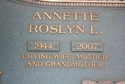 Annette Roslyn Louise Roslyn <i>Brantley</i> Beal