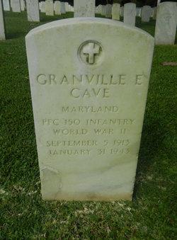 PFC Granville E. Cave