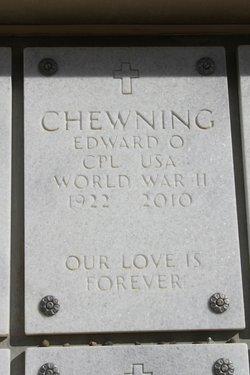 Edward Owen Eddie Chewning