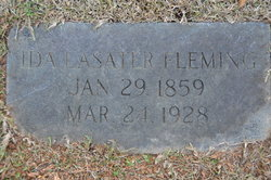 Ida <i>Lasater</i> Fleming
