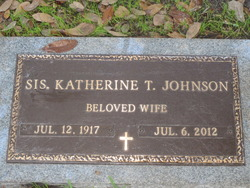Katherine <i>Thompson</i> Johnson