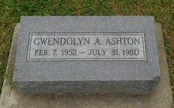 Gwendolyn A Ashton