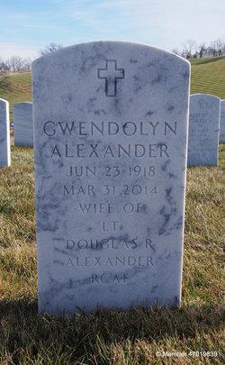 Gwendolyn <i>Rutledge</i> Alexander