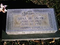 Mina <i>Vaughn</i> Snow