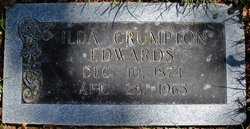 Matilda Eleanor Ilda <i>Crumpton</i> Edwards